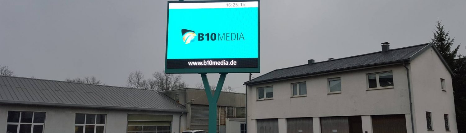 LED Display freistehend
