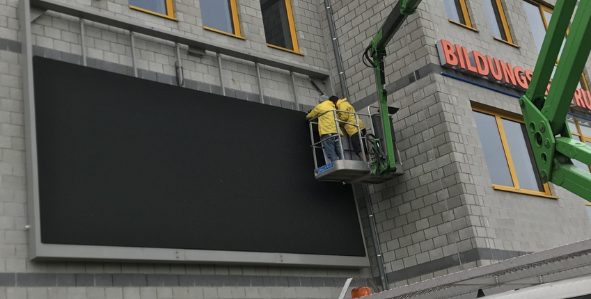 Wandmontage LED Display