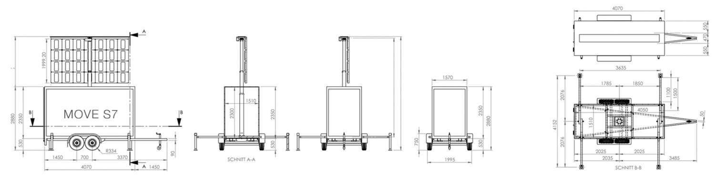 deset led display trailer