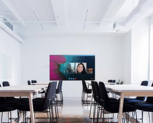Konferenzraum Display